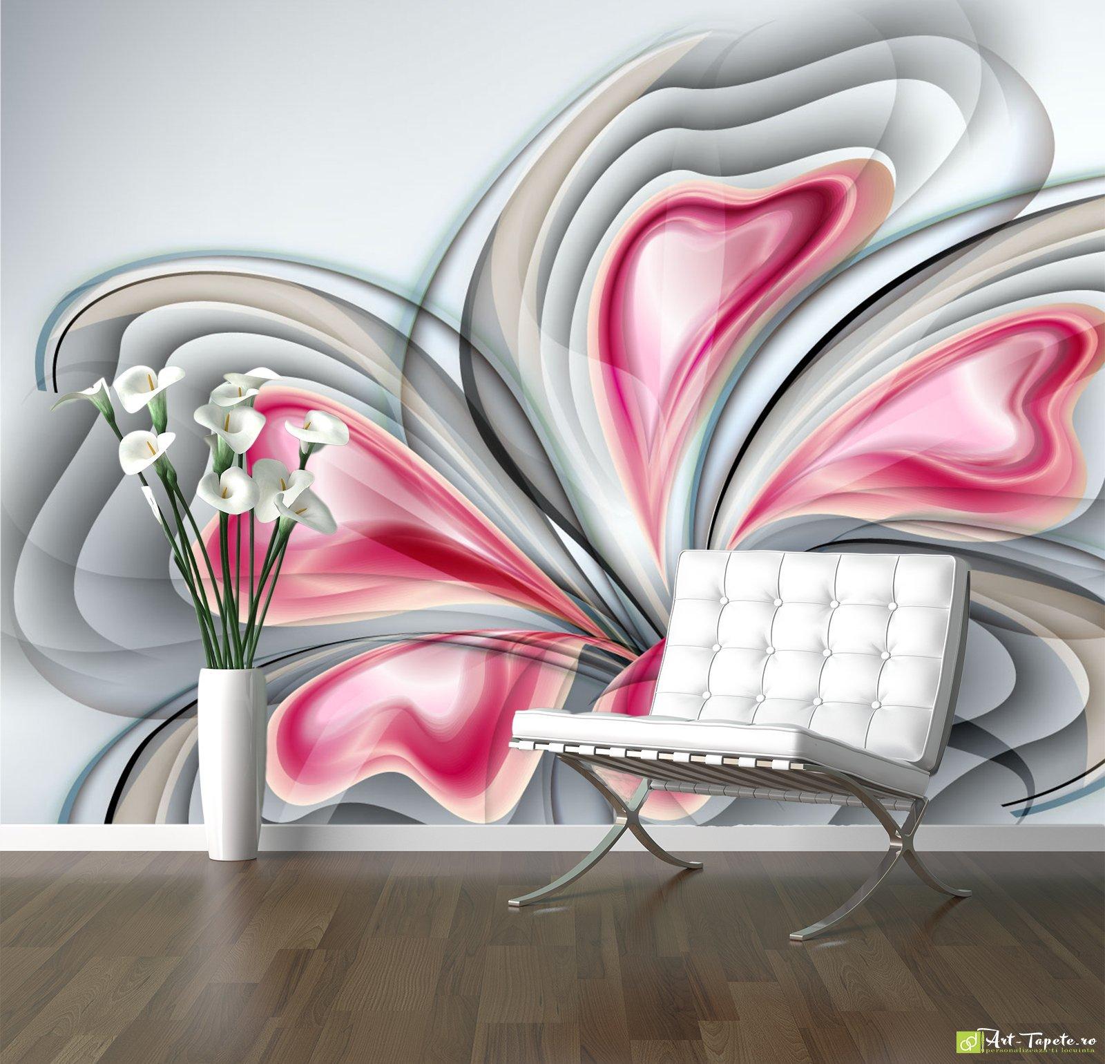 Абстрактный цветок фотообои