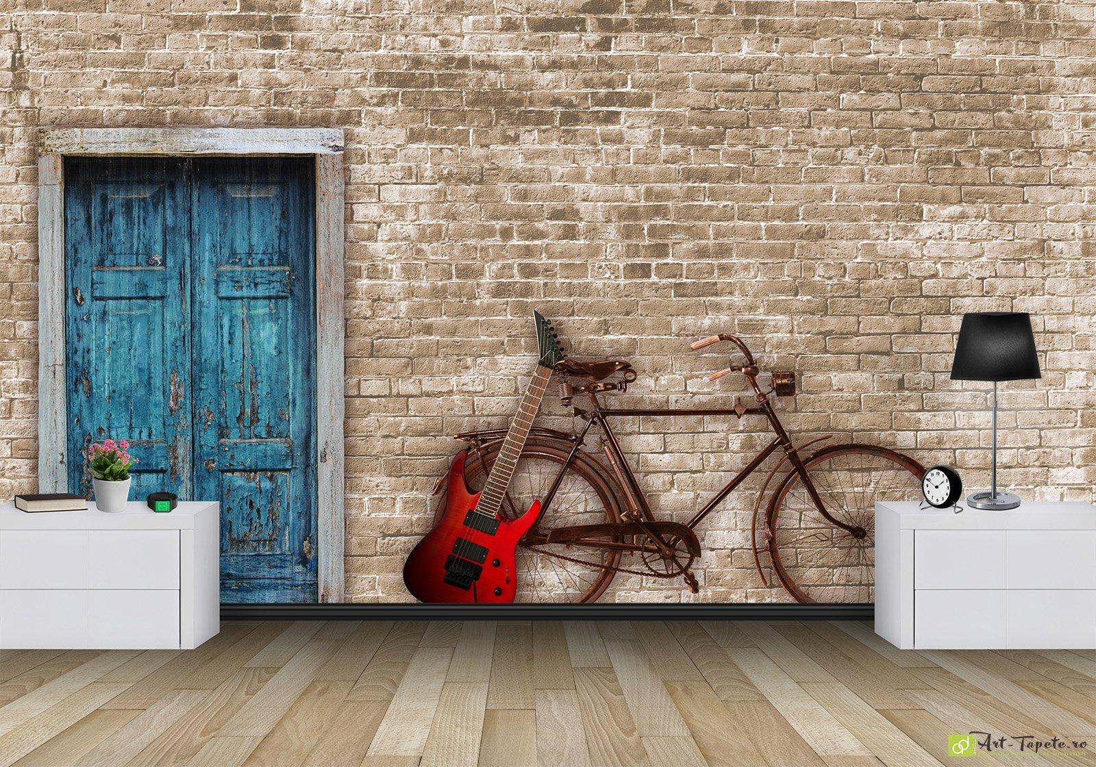 фотообои рисунок на кирпичной стене излом хвосте