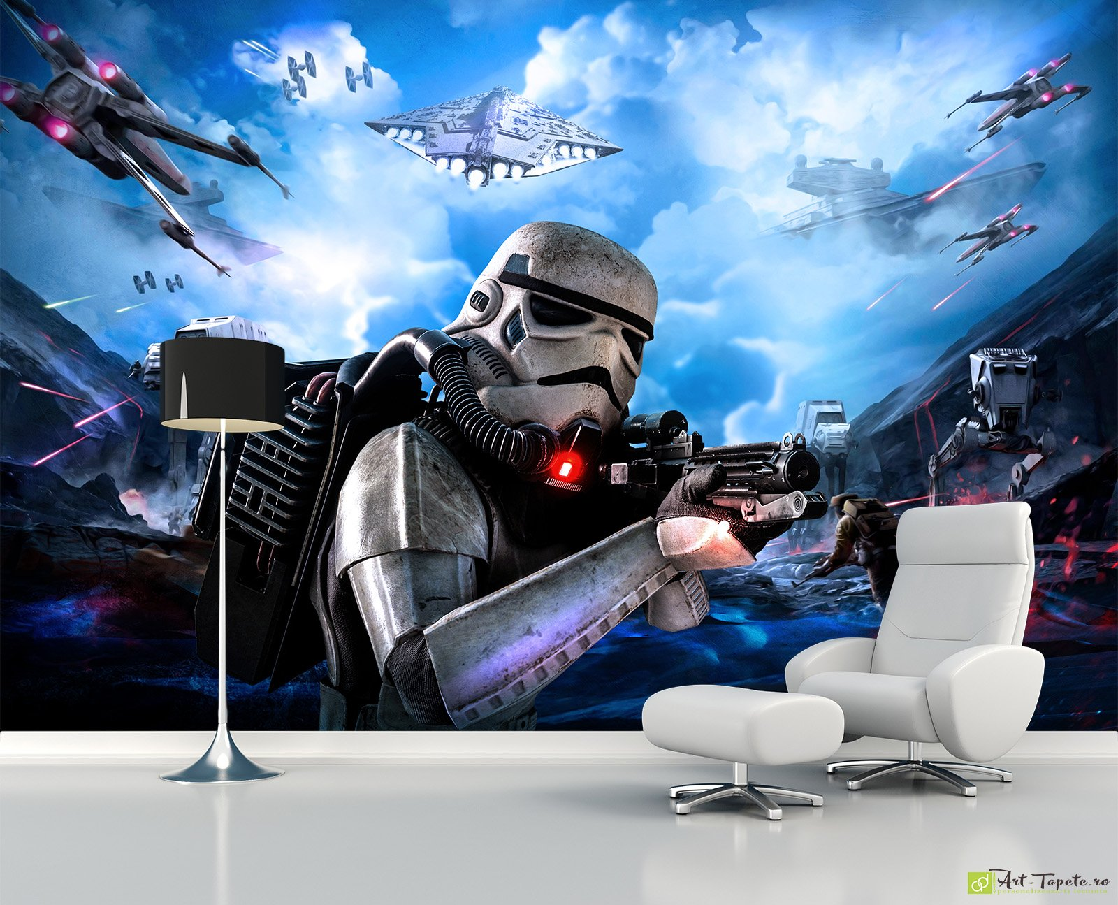 foto tapet pentru copii star wars. Black Bedroom Furniture Sets. Home Design Ideas