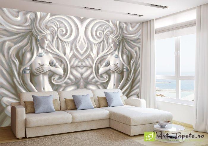 photo wallpaper 3d effect venus fantasy 6 eco friendly 3d wall paper on a. Black Bedroom Furniture Sets. Home Design Ideas