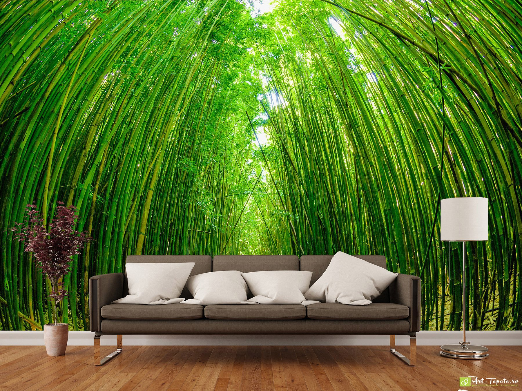 Nature Wallpaper Wall Murals Bamboo Forest2 Fototapetart Eco