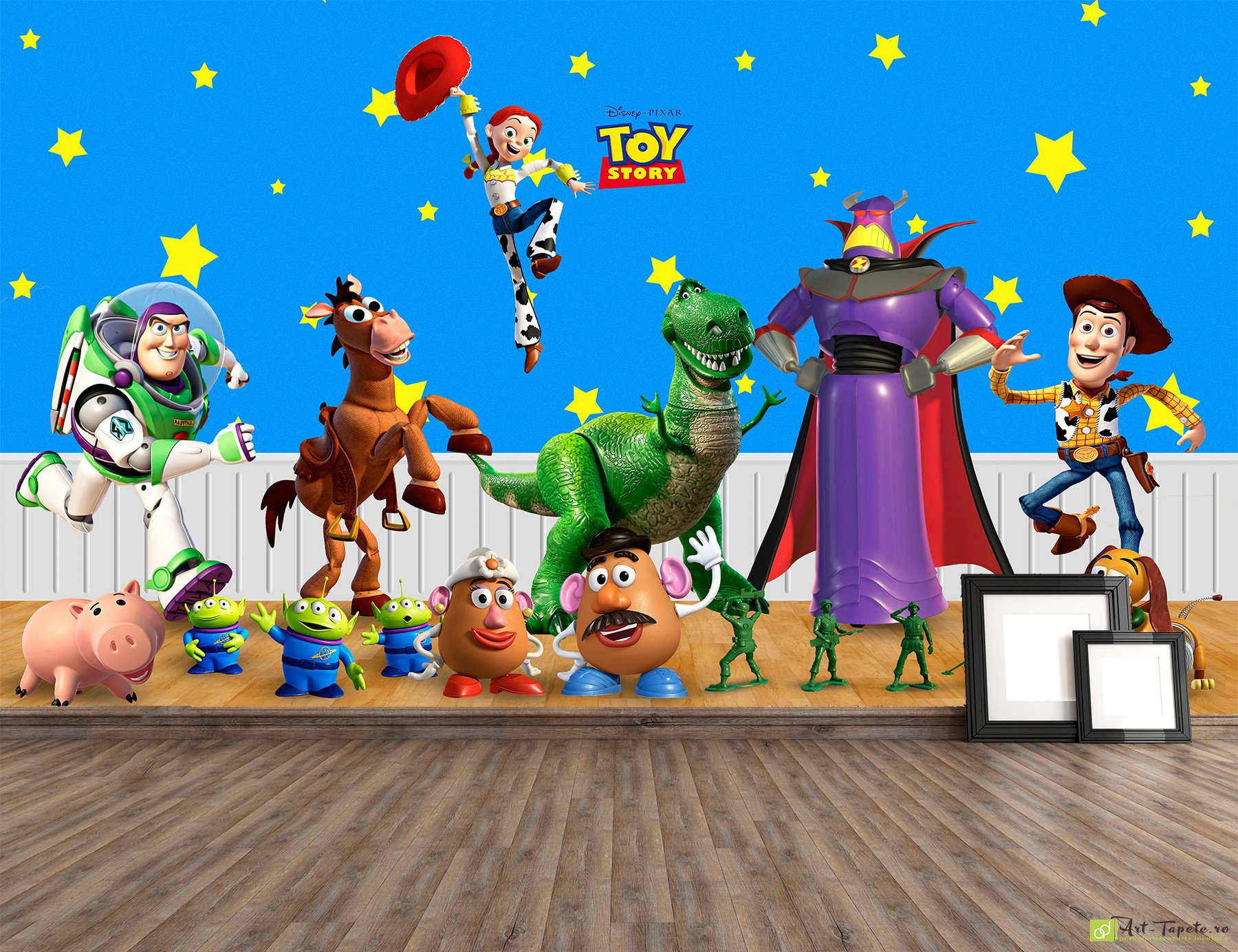 Childrens Wallpaper Wall Murals Toy story Disney Fototapet