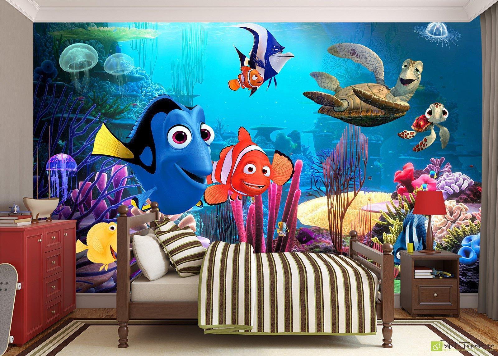Children S Wallpaper Wall Murals Finding Nemo Fototapet Art Digital For All Tastes From Citieap Motifs To Designer Creations And