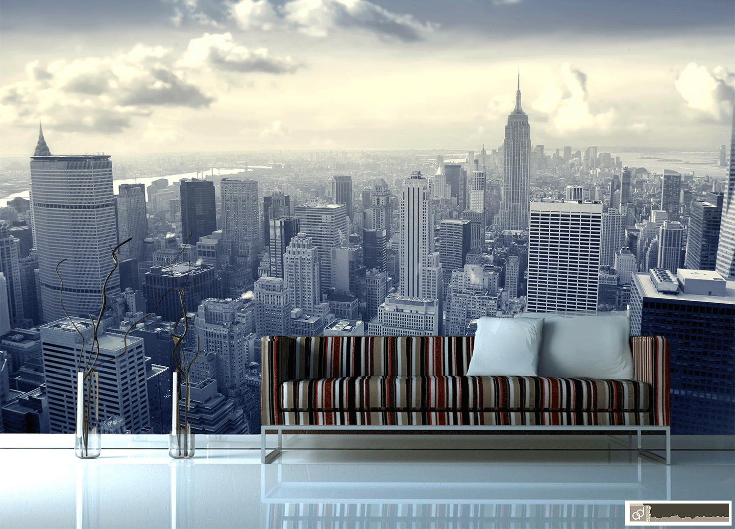 City Wallpaper Wall Murals New York Fototapett Our