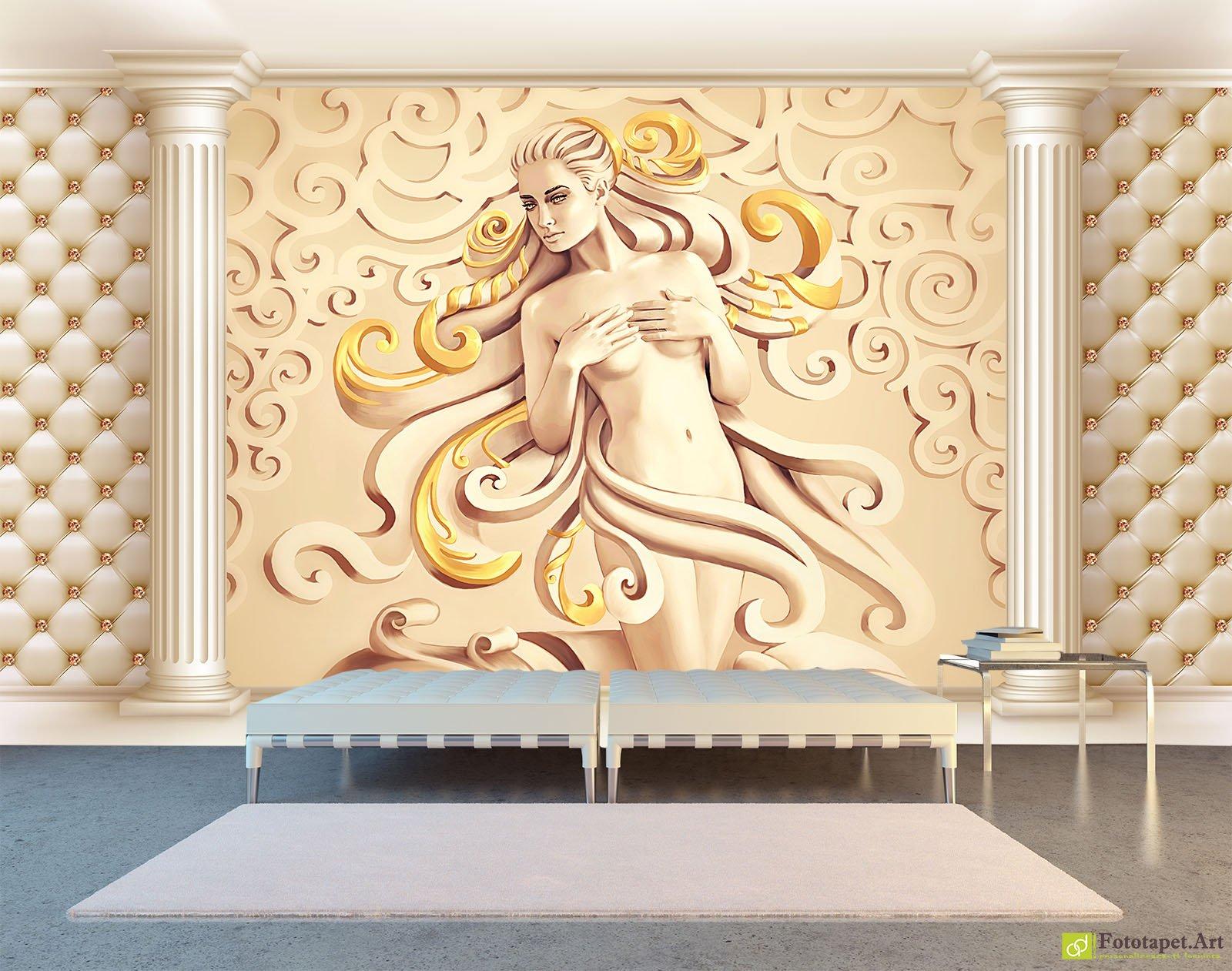 Photo Wallpaper 3D Effect - Venus, Fantasy_10 | Fototapet.art ...