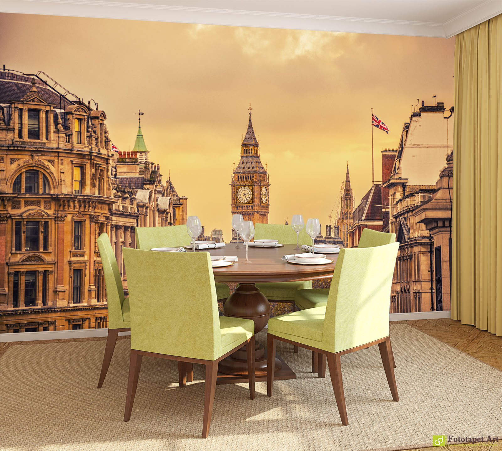 City Wallpaper & Wall Murals - Trafalgar Square, Londra | Fototapet ...