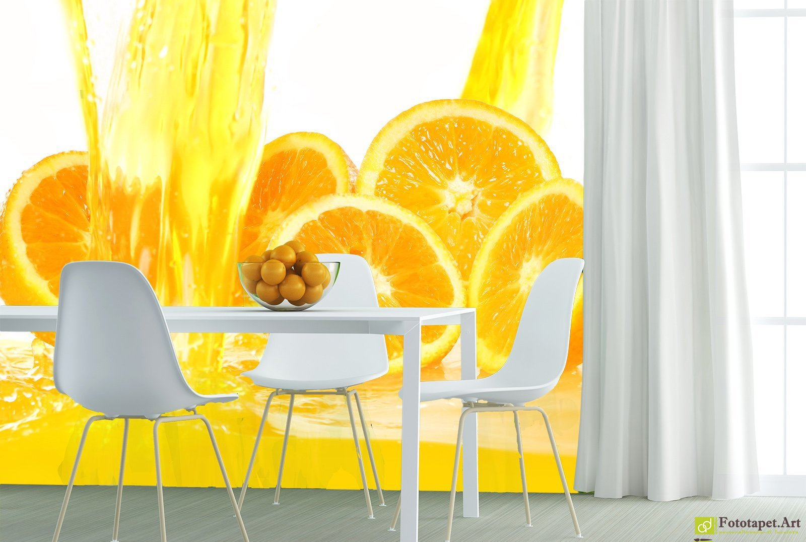 Kitchen Dining Wall Art - Oranges_2 | Fototapet.art Find your ...