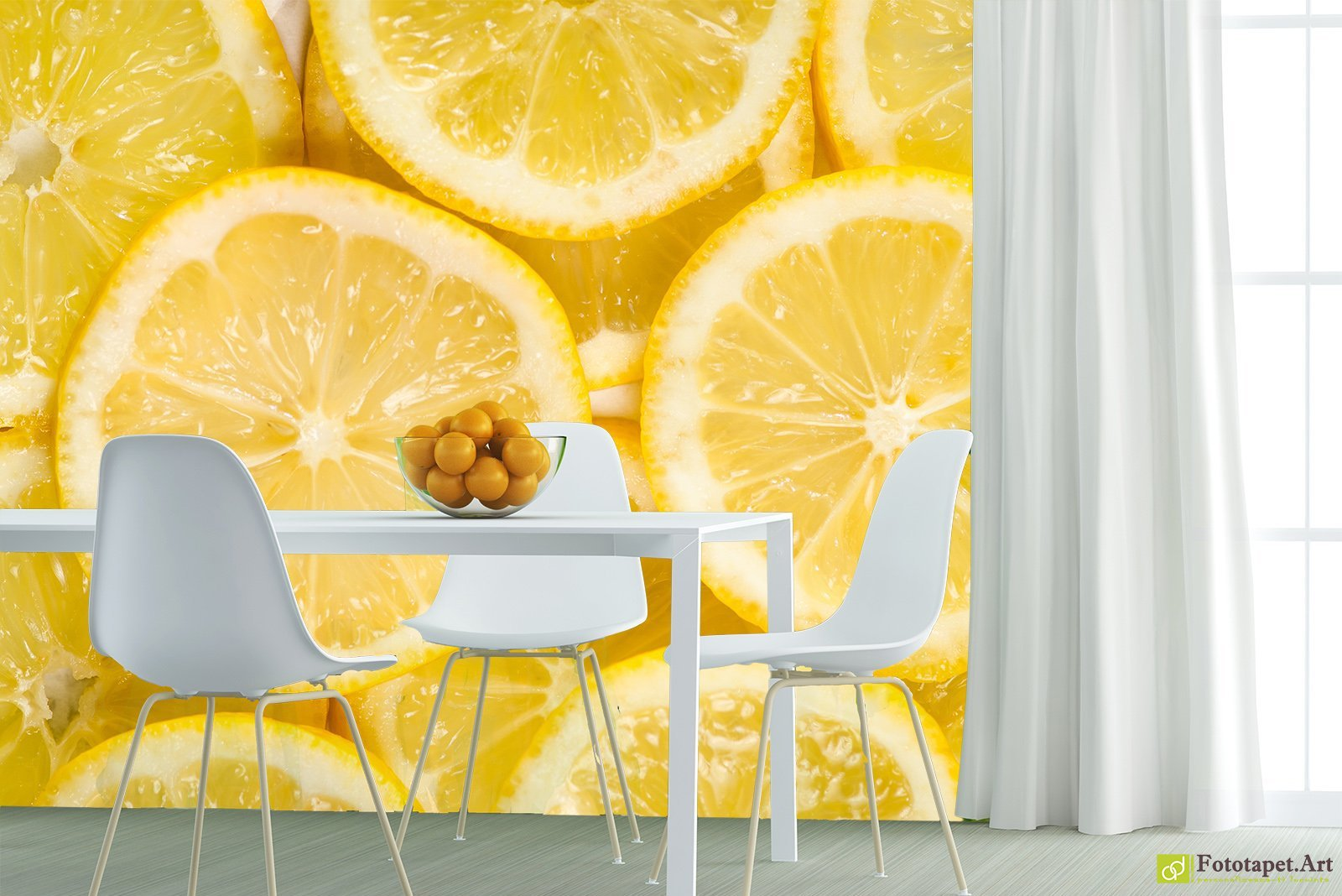Kitchen Wallpaper Wall Murals - Lemon | Fototapet.art Breath new ...