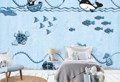 wallpaper f r kinder home ideen. Black Bedroom Furniture Sets. Home Design Ideas